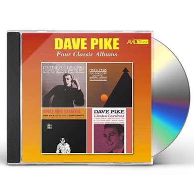 IT'S TIME FOR DAVE PIKE / PIKE'S PEAK / BOSSA NOVA CD