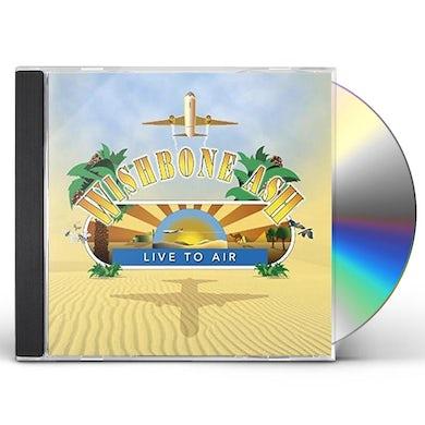 Wishbone Ash LIVE TO AIR CD