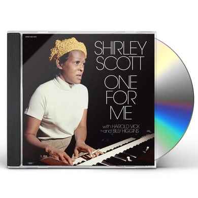 Shirley Scott ONE FOR ME CD