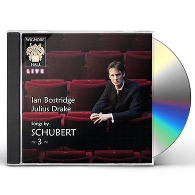 Ian Bostridge SONGS BY SCHUBERT 3 CD