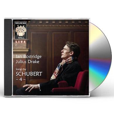 Ian Bostridge SONGS BY SCHUBERT 4 CD
