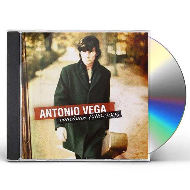 Antonio Vega CANCIONES 1980-09 CD