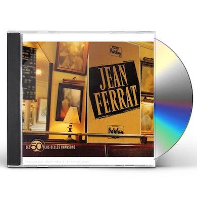 Jean Ferrat LES 50 PLUS BELLES CHANSONS CD