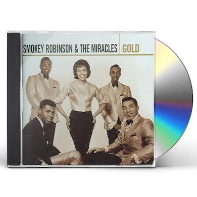 Smokey Robinson & Miracles GOLD CD
