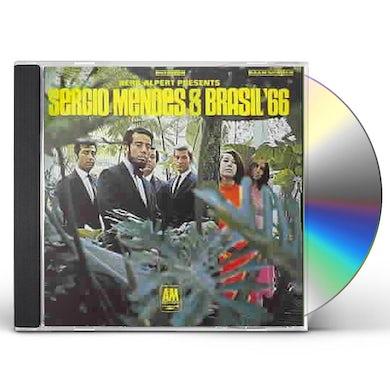 Sergio Mendes & Brasil '66 Herb Alpert Presents CD