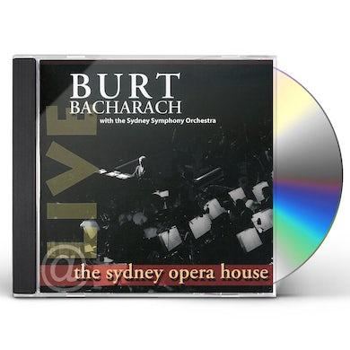 Burt Bacharach LIVE AT THE SYDNEY OPERA HOUSE CD