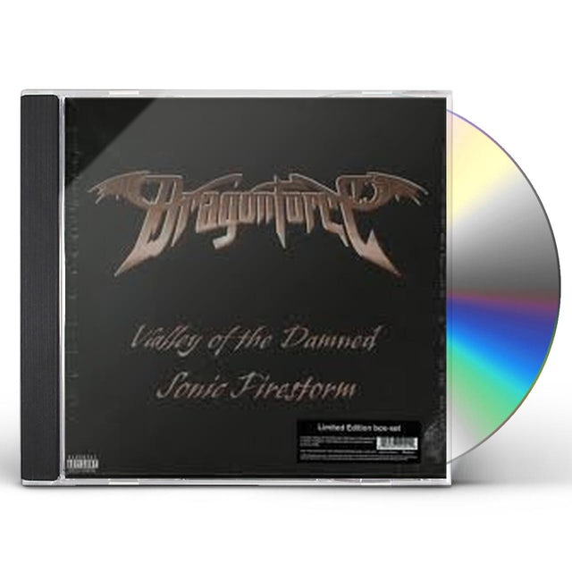 Dragonforce VALLEY OF THE DAMNED/SONIC FIRESTORM CD