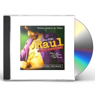 Raul Seixas INICIO O FIM: TRILHA SONORA DO FILME CD