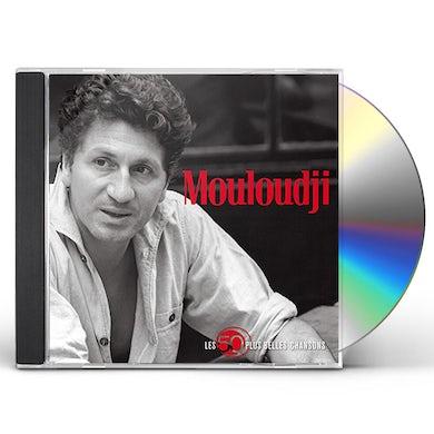 Mouloudji LES 50 PLUS BELLES CHANSONS CD