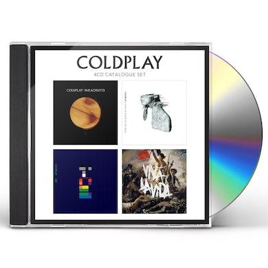 Coldplay 4 CD CATALOGUE SET CD