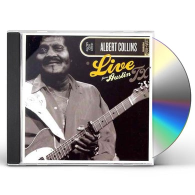 Albert Collins LIVE FROM AUSTIN TX CD