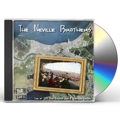 Neville Brothers LIVE AT JAZZ FEST 2011 CD