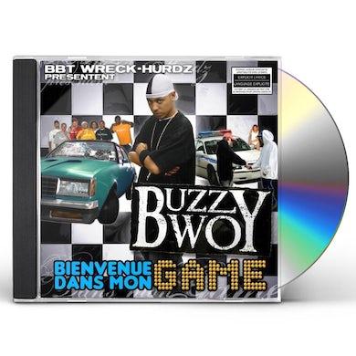 Buzzy Bwoy BIENVENUE DANS MON GAME CD