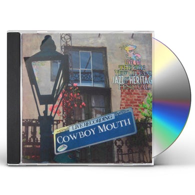 Cowboy Mouth LIVE AT JAZZFEST 2013 CD