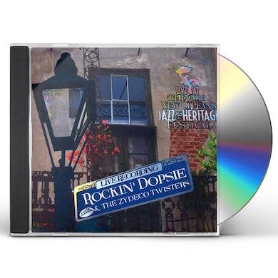 Rockin Dopsie LIVE AT JAZZFEST 2013 CD