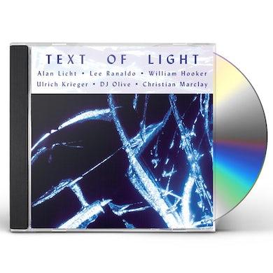 Text of Light CD
