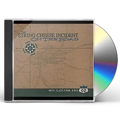 String Cheese Incident JUNE 19 2002 ST LOUIS MO: ON THE ROAD CD