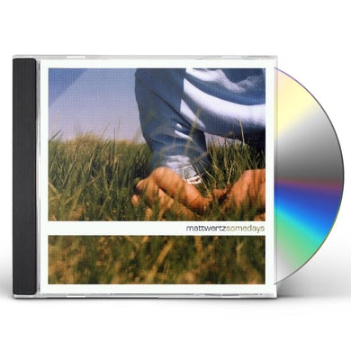 Matt Wertz SOMEDAYS CD