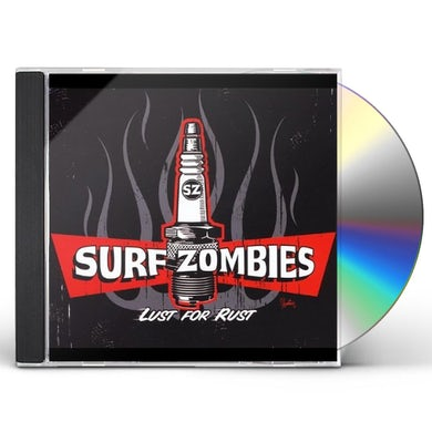 Surf Zombies LUST FOR RUST CD