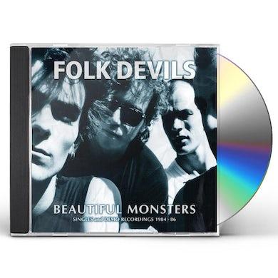 FOLK DEVILS BEAUTIFUL MONSTERS: SINGLES & DEMO RECORDINGS 1984 CD