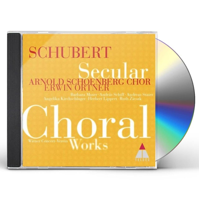 F. Schubert CHOEURS PROFANES CD