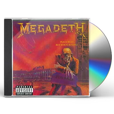 Megadeth PEACE SELLS BUT WHO'S BUYING CD