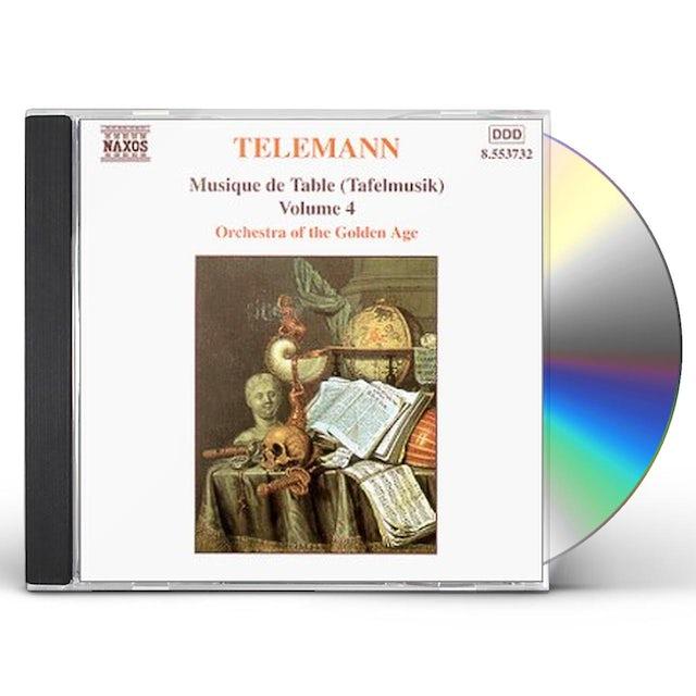 Telemann MUSIQUE DE TABLE PART 1 VOLUME 1 CD