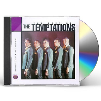 The Temptations ANTHOLOGY: BEST OF CD
