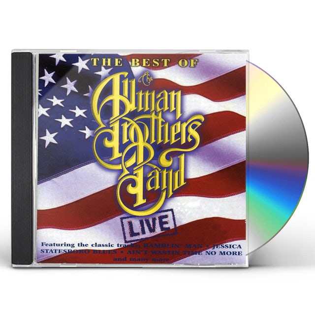 The Allman Brothers Band  ALL LIVE CD