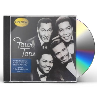 Four Tops ESSENTIAL TOPS CD