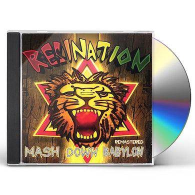 ResiNation MASH DOWN BABYLON (REMASTERED) CD