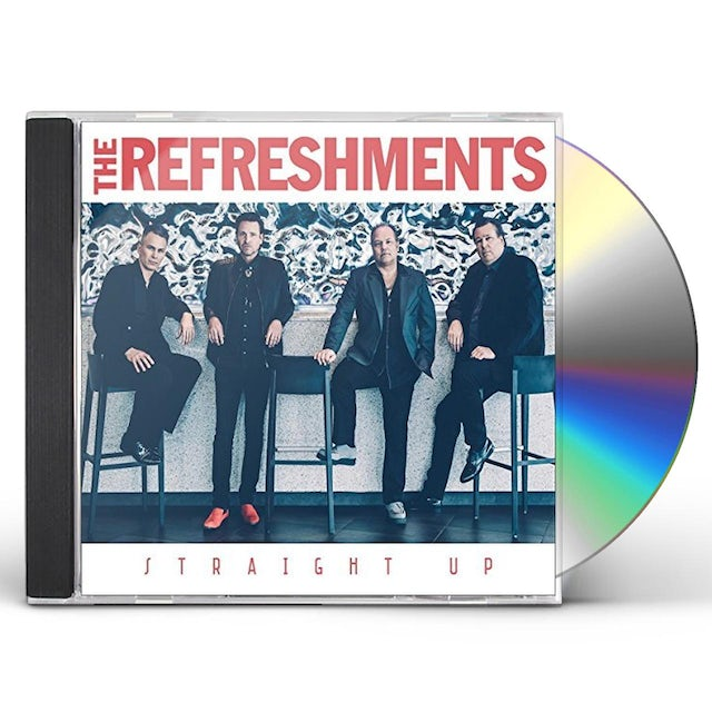 Refreshments STRAIGHT UP CD