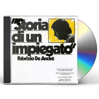 Fabrizio De Andre STORIA DI UN IMPIEGATO CD