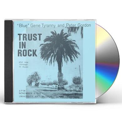 Blue Gene Tyranny & Peter Gordon TRUST IN ROCK CD