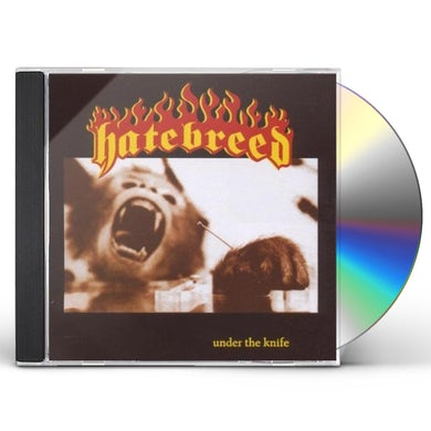 Hatebreed UNDER THE KNIFE CD