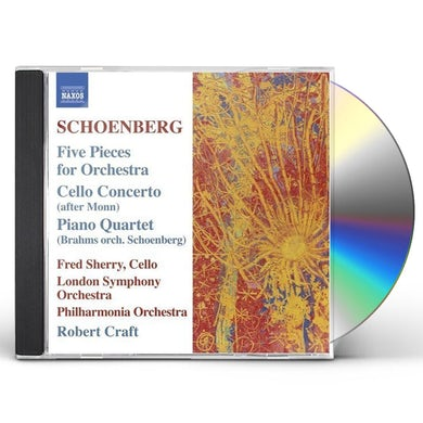 Schoenberg FIVE PIECES FOR ORCHESTRA CD
