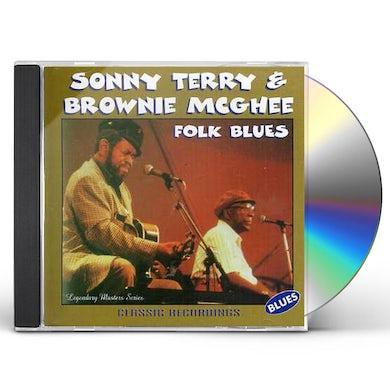 Sonny Terry / Brownie McGhee  FOLK BLUES CD