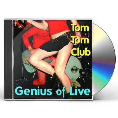 Tom Tom Club GENIUS OF LIVE CD