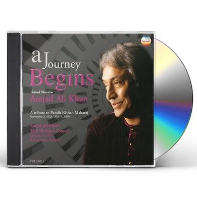Amjad Ali Khan JOURNEY BEGINS: TRIBUTE TO KISHAN MAHARA 1 CD