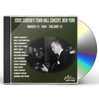 Eddie Condon TOWN HALL CONCERTS 12 CD