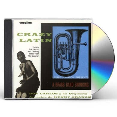 Don Carlos CRAZY LATIN & A BRASS BAND SWINGING CD