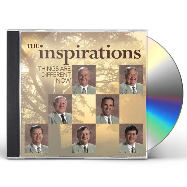 Inspirations THINGS ARE DIFFERENT NOW CD