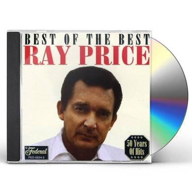 Ray Price BEST OF THE BEST CD