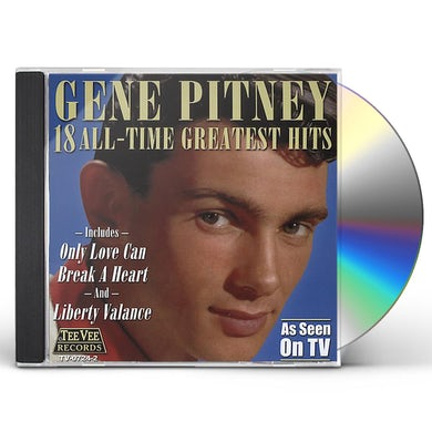 Gene Pitney 18 ALL TIME GREATEST HITS CD
