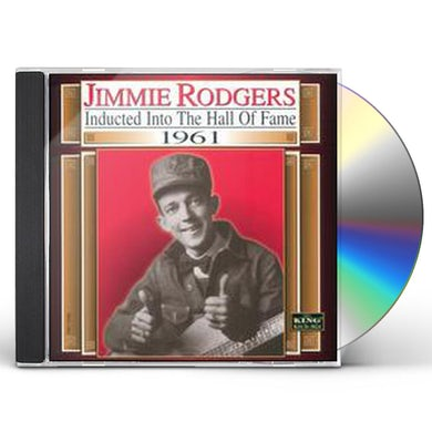 Jimmie Rodgers COUNTRY MUSIC HALL OF FAME 61 CD