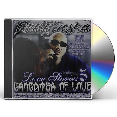 Cuete Yeska LOVE STORIES 3: GANGSTER OF LOVE CD