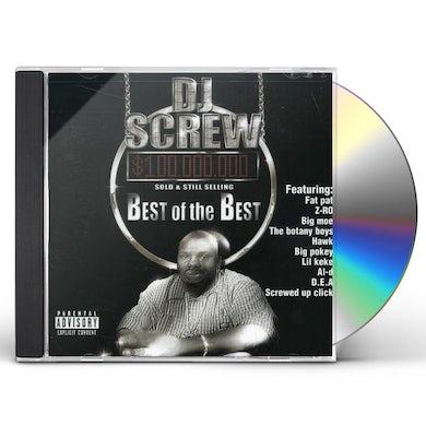 DJ Screw BEST OF THE BEST CD