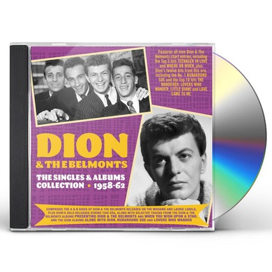 Dion & The Belmonts SINGLES & ALBUMS COLLECTION 1957-62 CD