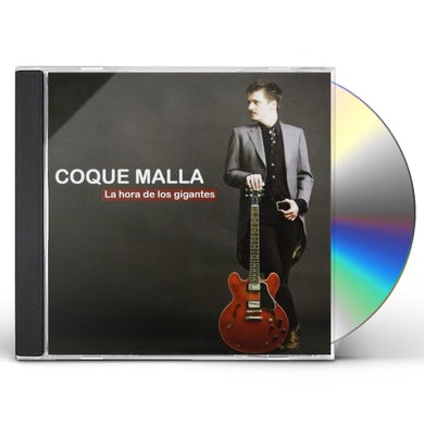 Coque Malla LA HORA DE LOS GIGANTES CD