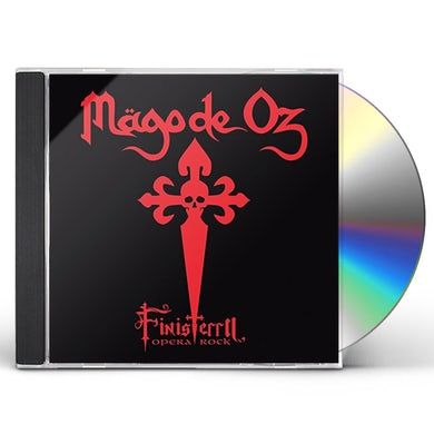 Mago De Oz FINISTERRA OPERA ROCK CD